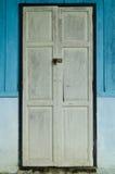 Vecchio portello bianco Fotografie Stock Libere da Diritti