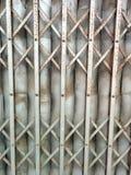 Vecchio portello d'acciaio Immagini Stock