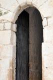 Vecchio portello del castello Immagine Stock Libera da Diritti