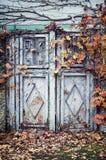 Vecchio portello del metallo Fotografia Stock Libera da Diritti