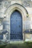 Vecchio portello della chiesa Fotografia Stock