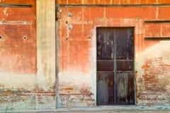 Vecchio portello della stazione Immagine Stock
