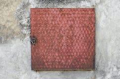 Vecchio portello di accesso dell'acqua Fotografia Stock Libera da Diritti