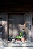 Vecchio portello di granaio Immagine Stock Libera da Diritti