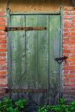 Vecchio portello di granaio Fotografie Stock