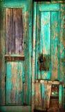 Vecchio portello di legno. Immagine Stock Libera da Diritti