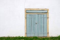Vecchio portello di legno Immagine Stock