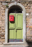 Vecchio portello italiano Fotografie Stock Libere da Diritti