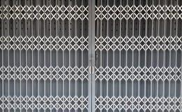 Vecchio portello metallico Fotografia Stock Libera da Diritti