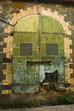 Vecchio portello variopinto Immagine Stock