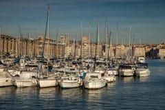 vecchio porto, città di Marsiglia, francese immagine stock