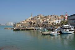 Vecchio porto della città di Giaffa in telefono Aviv Jaffa - Israele Fotografie Stock