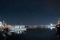 Vecchio porto di Limassol Immagine Stock Libera da Diritti