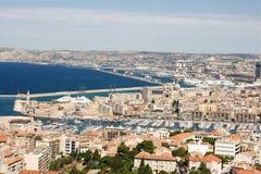 Vecchio porto di Marsiglia Fotografia Stock Libera da Diritti