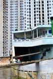 Vecchio porto a Jakarta, Indonesia Fotografia Stock