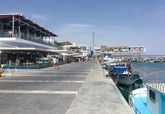 Vecchio porto a Limassol Fotografie Stock