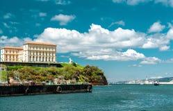 Vecchio porto a Marsiglia Fotografia Stock Libera da Diritti