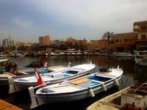 Vecchio porto, Tiro, Libano Immagini Stock