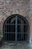 Vecchio portone alla vecchia città Fotografia Stock Libera da Diritti