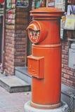Vecchio Postbox a Tokyo Fotografia Stock