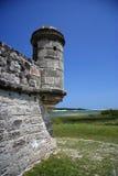 Vecchio posto di guardia di Sanish Immagini Stock