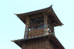 Vecchio posto di guardia Giappone Fotografia Stock