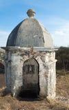 Vecchio posto di guardia nel castello di Olesko (Ucraina) Fotografia Stock