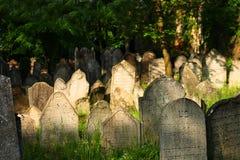 vecchio posto ebreo di sepoltura Fotografia Stock