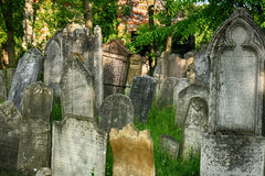 vecchio posto ebreo di sepoltura Immagini Stock Libere da Diritti