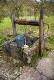 Vecchio pozzo Immagine Stock