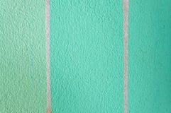 Vecchio primo piano arrugginito di struttura della parete del cemento di colore verde Immagini Stock Libere da Diritti