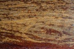 Vecchio primo piano boscoso del tek grungly strutturato immagini stock