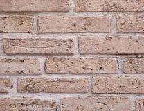 Vecchio primo piano del brickwall Immagini Stock Libere da Diritti