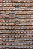 Vecchio primo piano del muro di mattoni Fotografia Stock Libera da Diritti