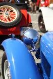 Vecchio primo piano dell'automobile Fotografie Stock
