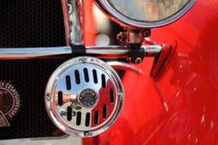 Vecchio primo piano dell'automobile Fotografia Stock Libera da Diritti