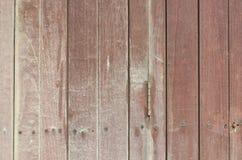 Vecchio primo piano della parete del legno duro di lerciume per fondo Fotografie Stock