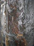 Vecchio primo piano di legno del fascio di sostegno Fotografie Stock