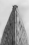 Vecchio primo piano di legno della prua della barca Fotografia Stock Libera da Diritti