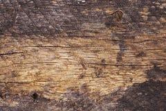 Vecchio primo piano di legno di struttura Fotografia Stock