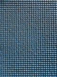 Vecchio primo piano di plastica blu ruvido di struttura Fotografia Stock Libera da Diritti