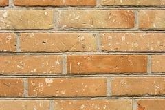 Vecchio primo piano rosso del muro di mattoni come fondo e struttura Copi il testo dello spazio Fotografia Stock Libera da Diritti