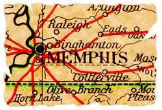 Vecchio programma di Memphis Immagini Stock Libere da Diritti