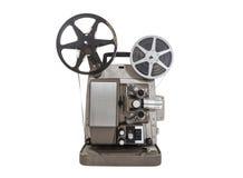 Vecchio proiettore di film immagini stock