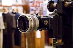 Vecchio proiettore di film Fotografia Stock Libera da Diritti