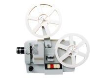 Vecchio proiettore di pellicola Fotografia Stock