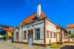 Vecchio punto di riferimento in Cakovec, Croazia Fotografia Stock