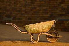 Vecchio pushcart Immagini Stock