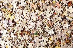 Vecchio puzzle del programma Immagine Stock Libera da Diritti