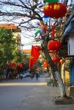 Vecchio quarto di Hanoi - Vietnam Fotografie Stock